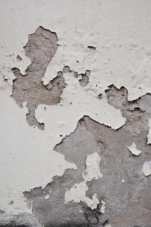 paint wall: grunge peeling paint wall textured background, brown or beige tone