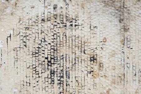 cartone marrone, riciclare carta dettagliata con texture di sfondo