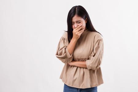 chory kaszel, przeziębienie, grypa, alergia Zdjęcie Seryjne