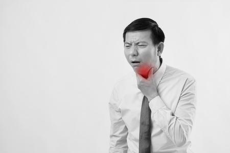 喉の痛み、風邪、インフルエンザの病人
