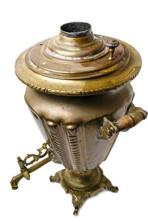 samovar: Russian tradition, samovar, kettle, tea, old, antique