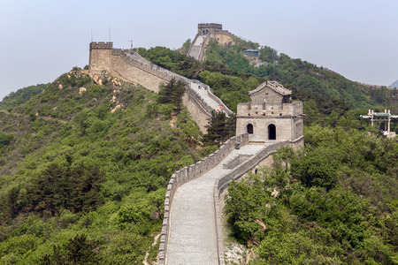greatwall: Great Wall of China in spring. Near Beijing