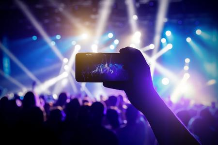 Concert light performance
