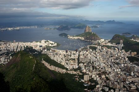 Sugarloaf bay in Rio De Janeiro