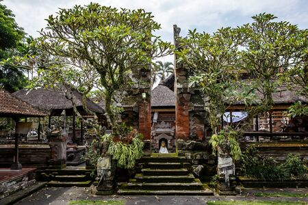 Traditional Bali Temple. Balinese Hinduism religion