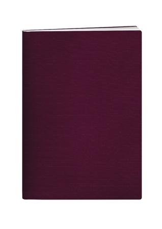 passeport: passeports vierges avec couvercle de couleur marron sur fond blanc Banque d'images