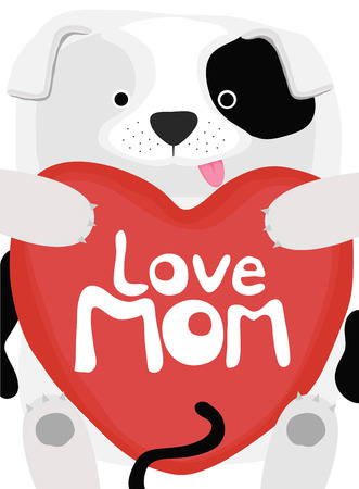 love mom: colecci�n amor animal, perrito amor mam�