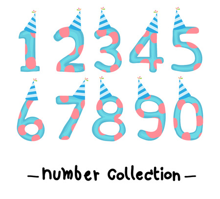 number collection, party Vector