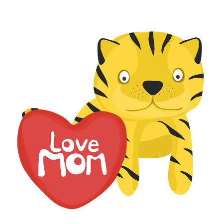 baby tiger: raccolta di carta animale, bambino tigre