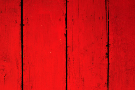 Red Wood Background, Textured Grunge Stock Photo