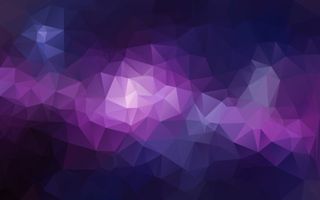 Abstract polygonal background, Purple Tone , vector