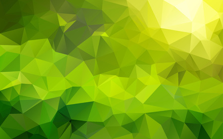 green wallpaper: Abstract polygonal background,vector Illustration