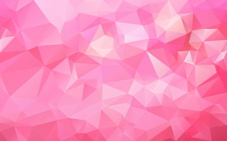 pink: Abstract polygonal background,vector Illustration