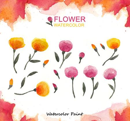 Flower paint, Watercolor paint high resolution