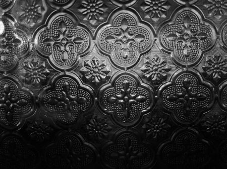 decor: Glass walls Stock Photo
