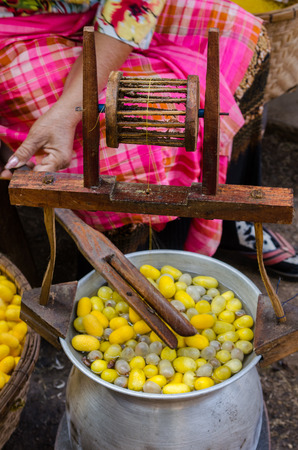 silk: Making silk thread