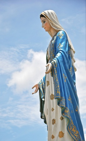 mother mary: Mother Mary Stock Photo