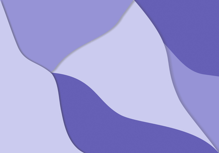 Modern material design style wallpaper pattern background in blue, turquoise and purple color hues