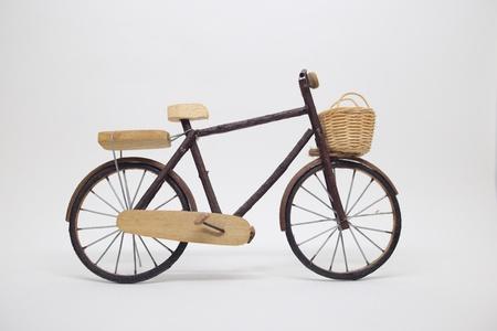isolated: Bicycle handcraft Stock Photo