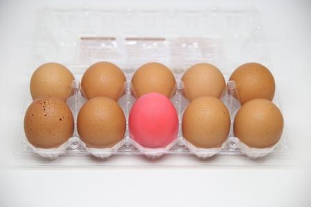 isolated: Eggs isolate white Stock Photo