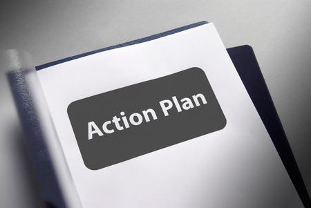 plan d action: page de titre du document pour le plan d'action