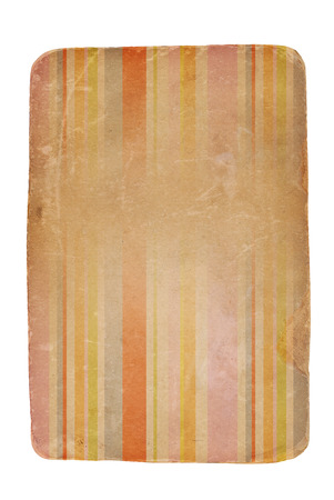faded: A piece of old worn aged cardboard with faded stripe design