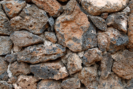 volcanic rock: Volcanic rock wall background
