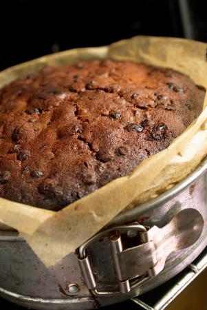 fruitcake: Freshly baked fruitcake made with Glacier Cherries,Mixed Peel,Currants,Sultanas and Dark Brown Soft Demerera Sugar