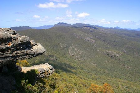 The balconies (Grampians National Park, located in Victoria, Australia)