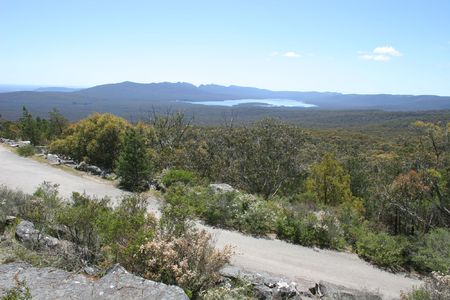 Photo of the australian outback (somewhere in Grampians region, Victoria, Australia)