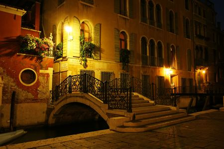 Venice at night (Italy)