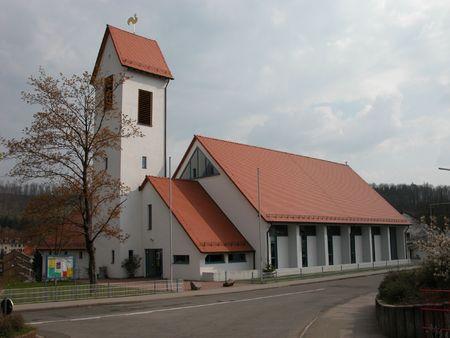 protestant: Protestant Church in Landstuhl, Germany