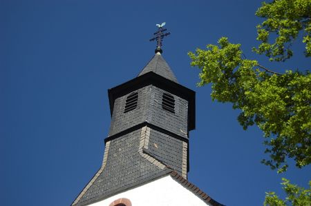 church steeple: Steeple Chiesa in Germania