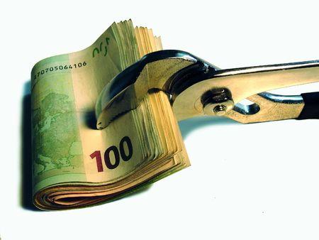 hoard: money concept Stock Photo