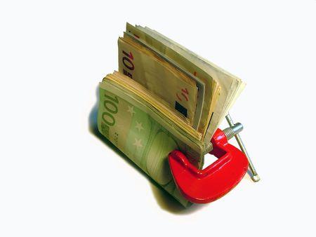 laundered: money concept Stock Photo