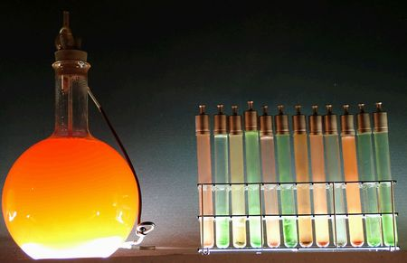 Chemistry glassware photo