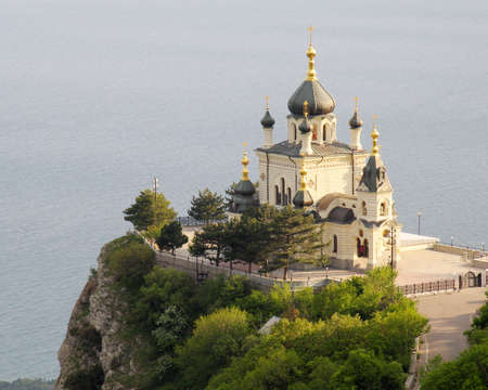 Church in Foros. Crimea