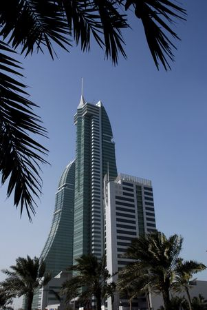 middle east: bahrain financial harbour, middle east