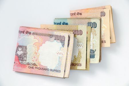 permitted: indian rupees currency, paper lagal notes