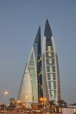 Bahrain World Trade Center Manama Stock Photo - 13336773