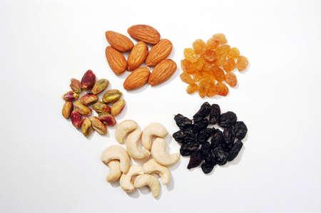 dry fruits: Mixed dry fruits Stock Photo
