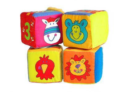 Toy Blocks Stock Photo
