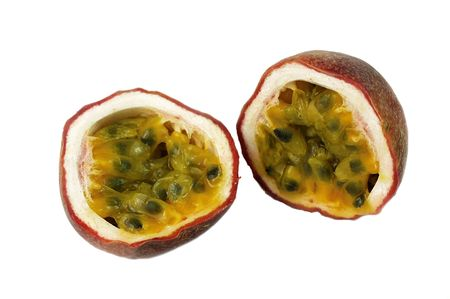 pips: PASSION FRUIT Stock Photo