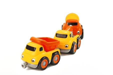 Toy Trucks Stock Photo