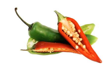 Sliced Chillies