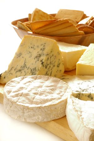 Cheese selection Stock Photo