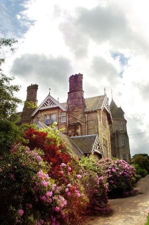 Vogrie House in Scotland Stock Photo