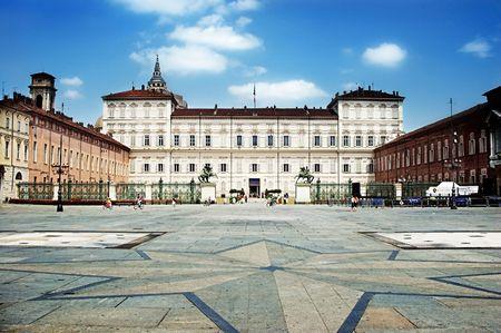 Piazza Castello, Torino, Italy