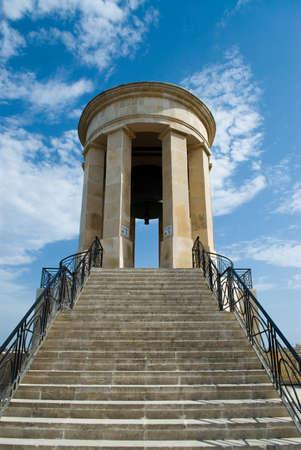 Siege Bell, war memorial in Valetta, Malta