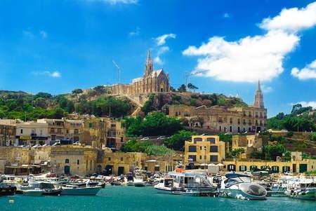 View of Valetta in Malta